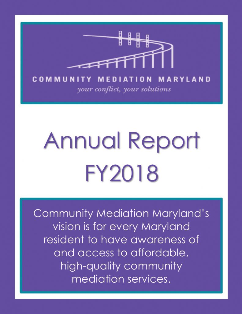 Community Mediation Maryland – Advancing collaborative