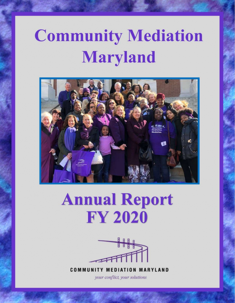 Front cover of Annual Report FY 2020